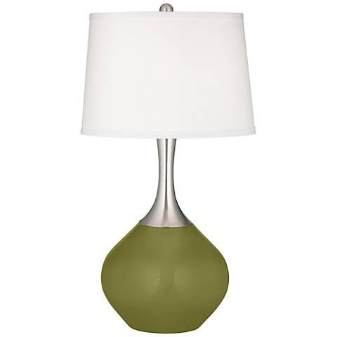 Rural Green Spencer Table Lamp