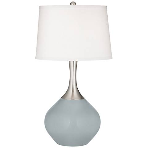 Uncertain Gray Spencer Table Lamp