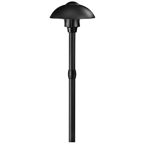 Hinkley Ellipse Black Low Voltage LED Landscape Light