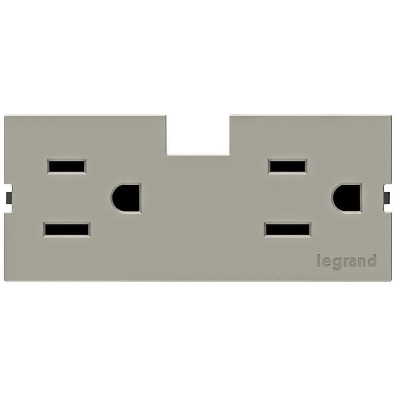 adorne® Titanium One-Outlet Module