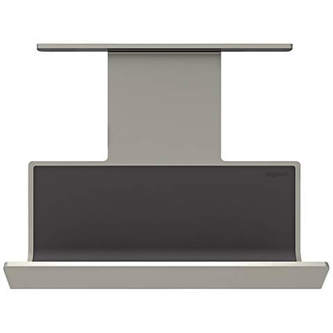 adorne® Titanium Undercabinet Mobile Phone Cradle