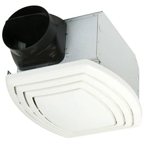 Craftmade White 110 CFM 0.8 Sones Bathroom Exhaust Fan