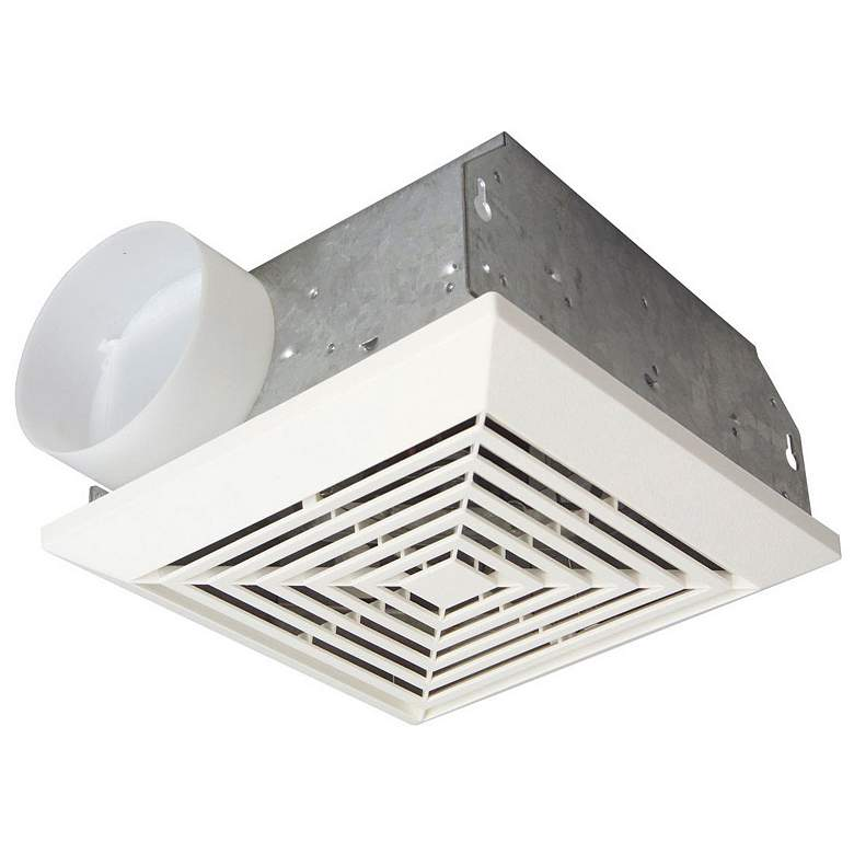 Craftmade Builder White 70 CFM 3.5 Sones Bath Exhaust Fan