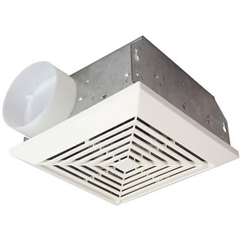 CraftmadeBuilder White 50 CFM 3.5 Sones Bath Exhaust Fan