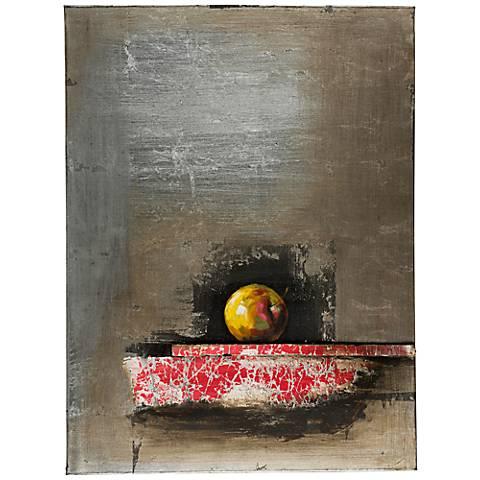 """Cooper Classics Apple I 24"""" High Canvas Wall Art"""