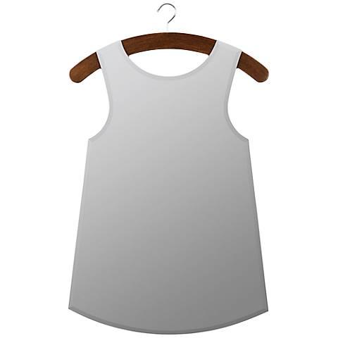 Cooper Classics 36.25 x 22.25 Hanger and Dress Wall Mirror