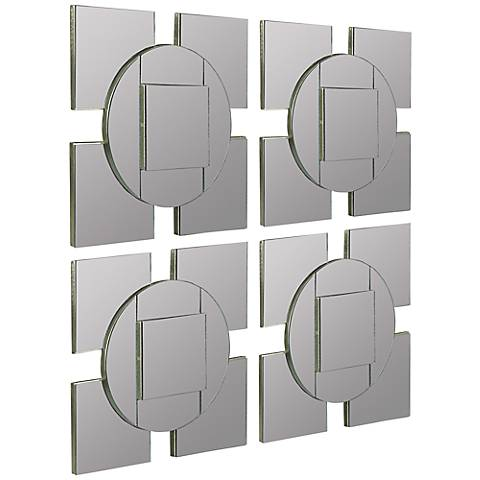 Cooper Classics Tupan 13 3 4 Square Wall Mirror Set