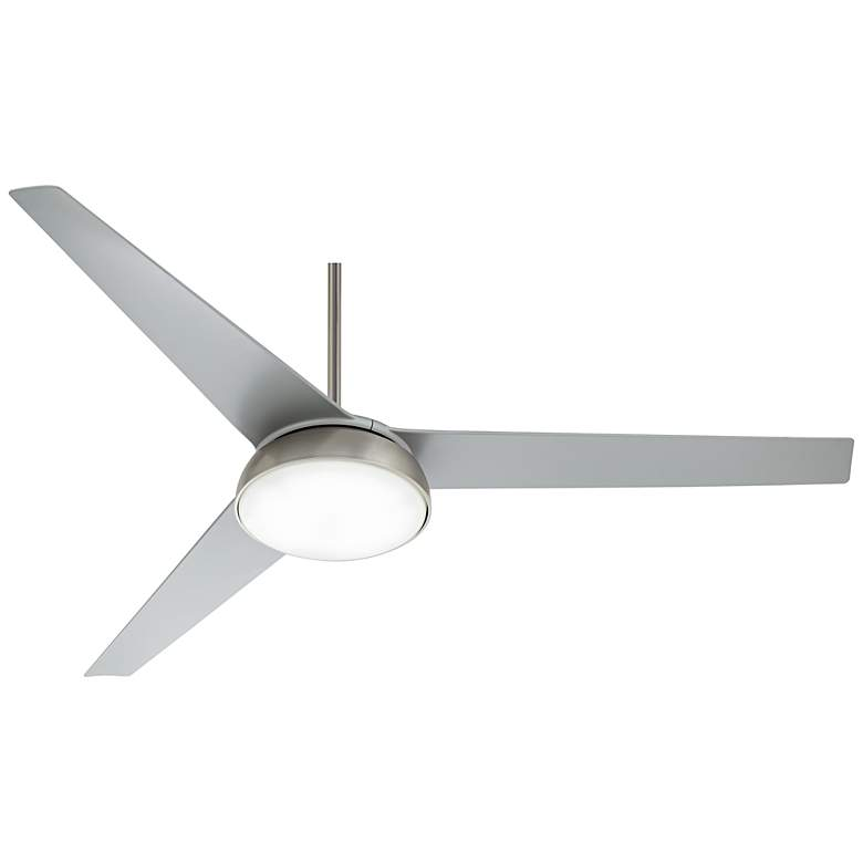 """60"""" Turano™ Brushed Steel LED Ceiling Fan"""