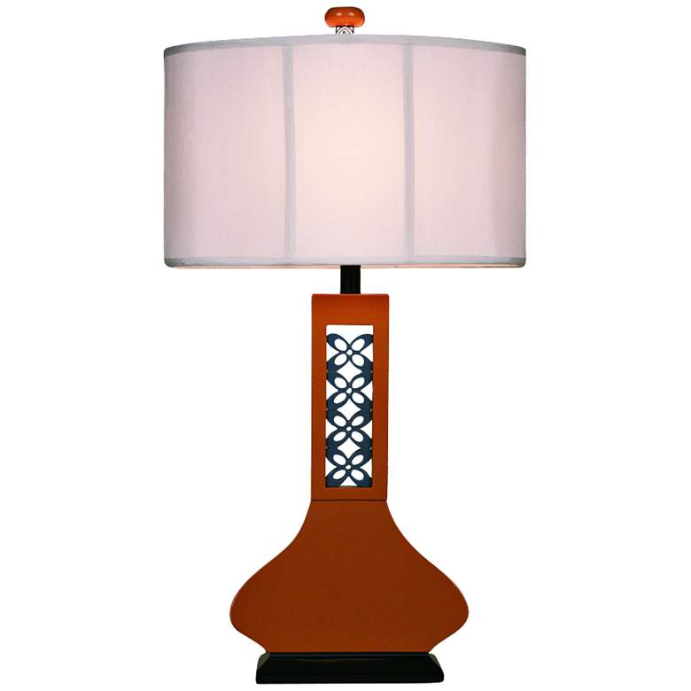 Hookah Copper Large Table Lamp