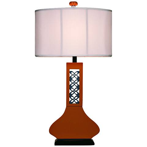 Hookah Copper Large Table Lamp