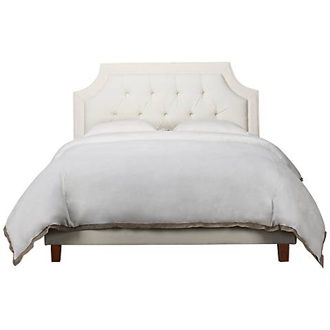 Jennifer Taylor Padded Off-White Headboard