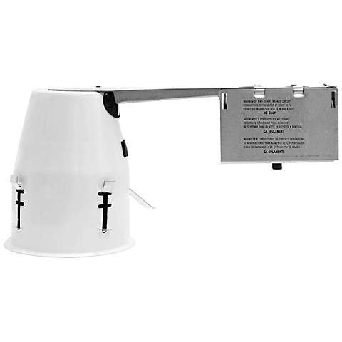 """4"""" Line Voltage 50 Watt Non-IC Remodel Can Housing"""