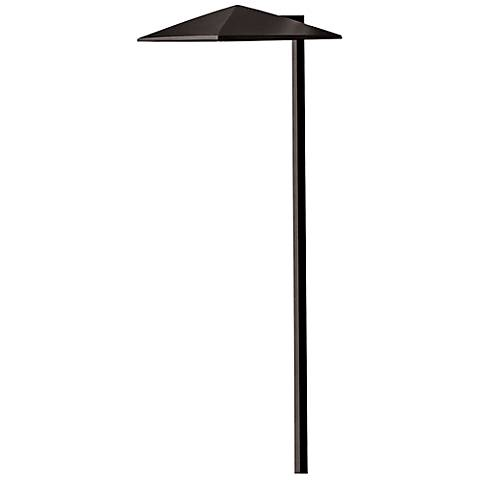 "Hinkley Harbor 21"" High Satin Black Outdoor LED Path Light"
