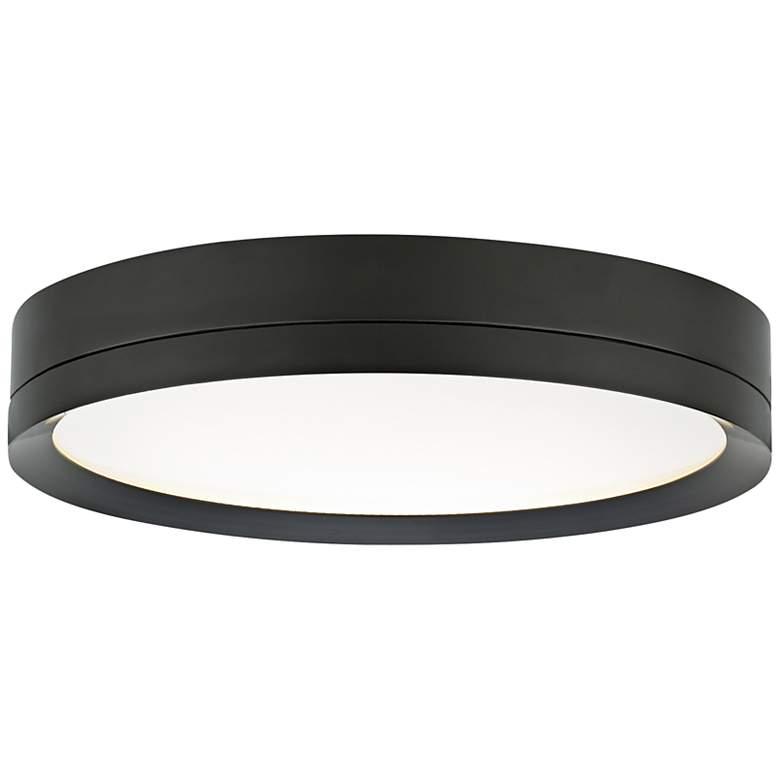 "Tech Lighting Finch 12"" Round Bronze LED Ceiling Light"