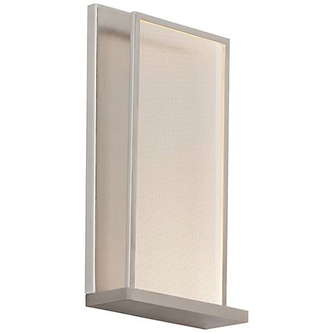 "Tech Lighting Istra 11 1/2""H Satin Nickel LED Wall Sconce"
