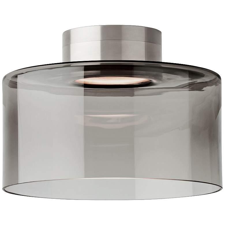 """Tech Lighting Manette 11"""" Wide Smoke LED Ceiling Light"""
