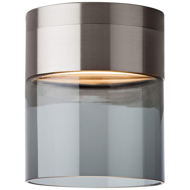 """Tech Lighting Manette 5"""" Wide Smoke LED Ceiling Light"""