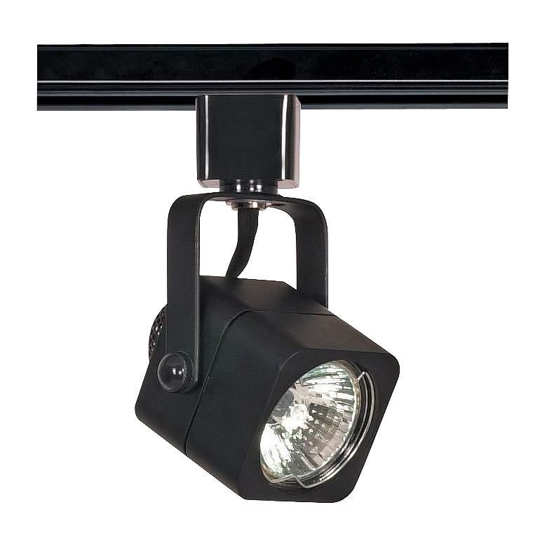 Nuvo Lighting 120V Black MR16 Square Track Light Head