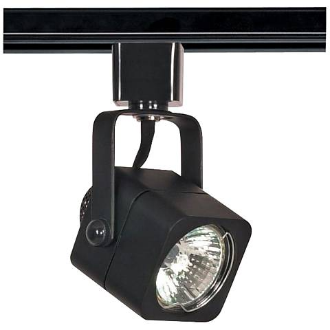 Nuvo Lighting 120V Black MR16 Square Track Light Head