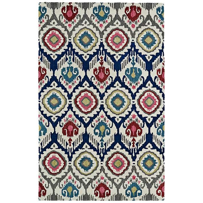Kaleen Global Inspirations Glb04 86 Multi Color Wool Rug 7g340