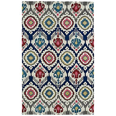 Kaleen Global Inspirations GLB04-86 Multi-Color Wool Rug