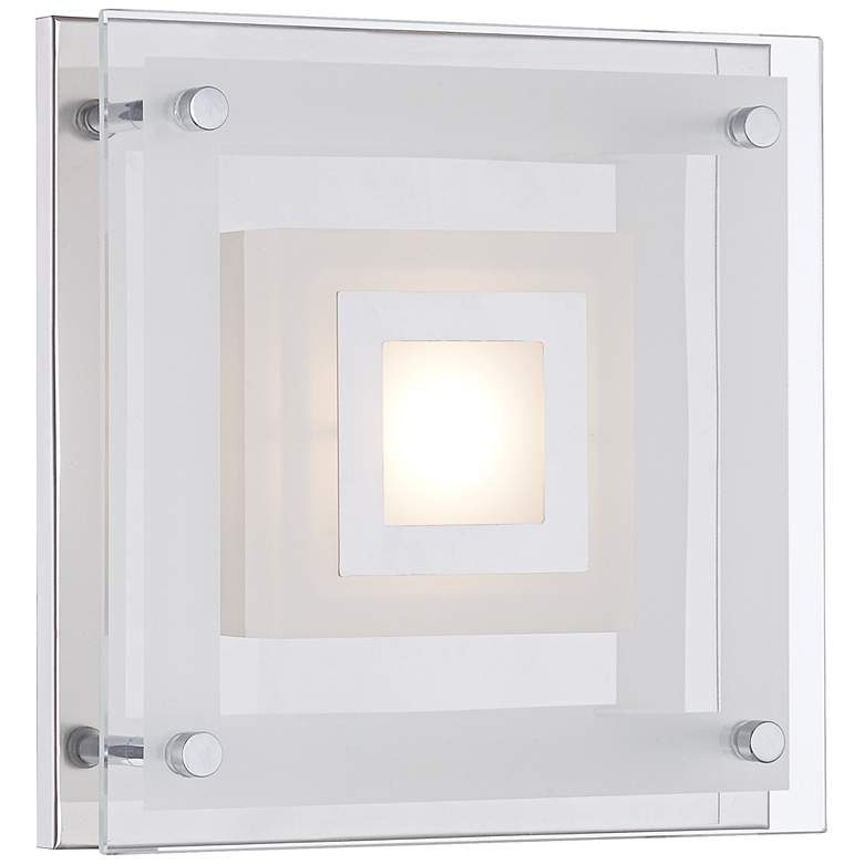 "Reese 8"" Wide Glass LED Wall Sconce"