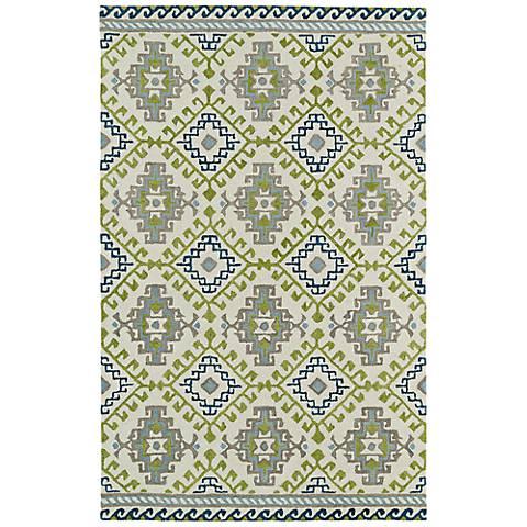 Kaleen Global Inspirations GLB07-01 Wool Ivory Area Rug