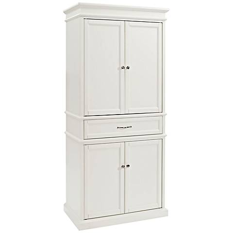 Parsons White 4-Door Pantry