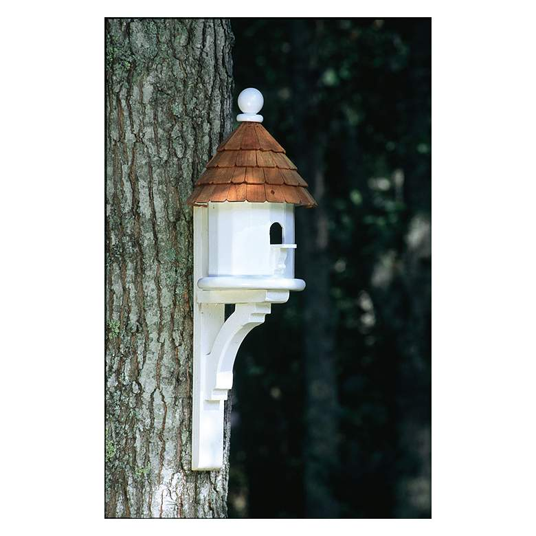 Good Directions Lazy Hill Farm Small Shingled Bird House