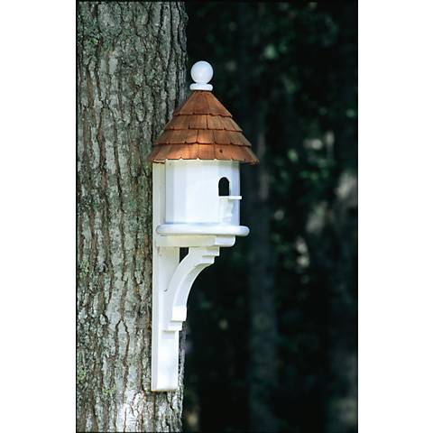 Good Directions Lazy Hill Farm Small Shingled Bird House