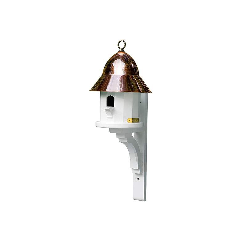 Good Directions Lazy Hill Farm Copper Top Bird House