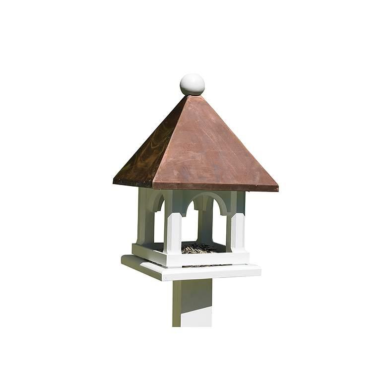 Good Directions Lazy Hill Farm Mini Copper Bird Feeder