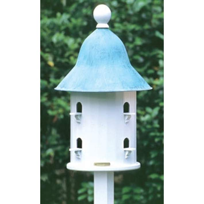 Good Directions Lazy Hill Farm Bell Blue Verde Bird House 7h173 Lamps Plus