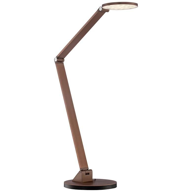 Possini Euro Magnum French Bronze LED Desk Lamp