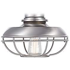 Ceiling fan light kits lamps plus franklin park brushed nickel damp ceiling fan light kit aloadofball Choice Image