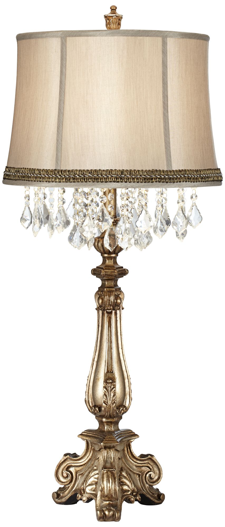 crystal buffet lamps table lamps lamps plus rh lampsplus com waterford crystal buffet lamps crystal beads buffet lamp