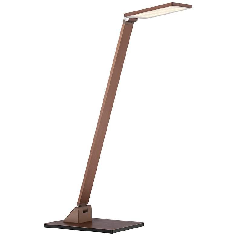Possini Euro Bentley French Bronze LED Desk Lamp