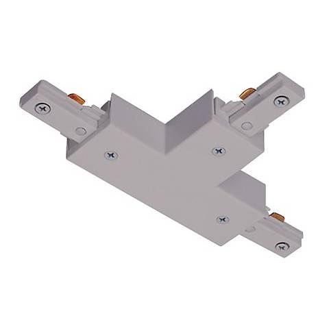 Juno Silver Adjustable T-Connector Track Joiner