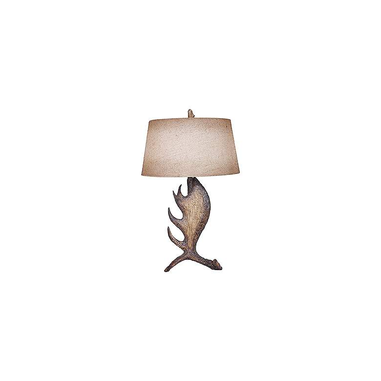 Crestview Collection Moose Shed Rustic Tall Table Lamp