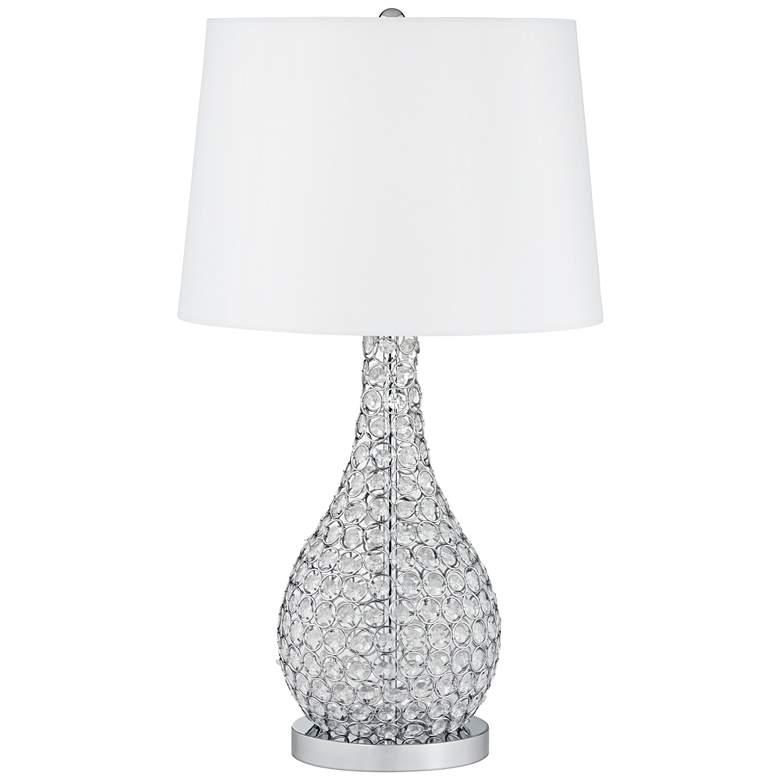 Possini Euro Kasey Beaded Gourd Table Lamp