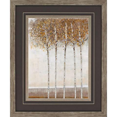 "Early Fall I 35"" High Framed Wall Art"