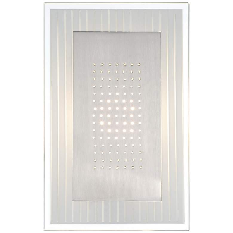 "Lite Source Flynn LED 12"" High Steel Wall Sconce"