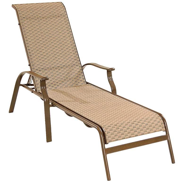 Panama Jack Island Breeze Sling Patio Chaise Lounge