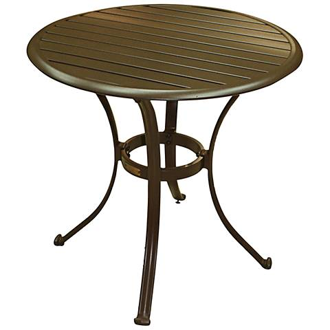 Panama Jack Island Breeze Round Patio Bistro Table