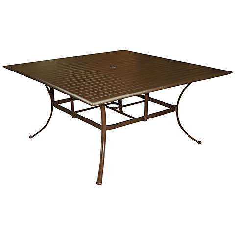 Panama Jack Island Breeze Square Patio Dining Table