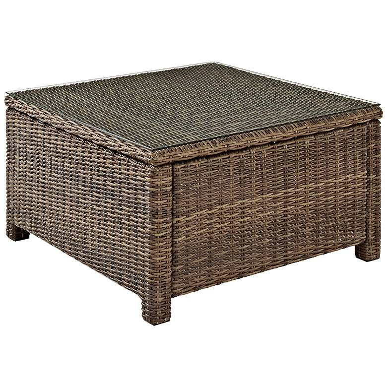 Bradenton Outdoor Wicker Sectional Coffee Table