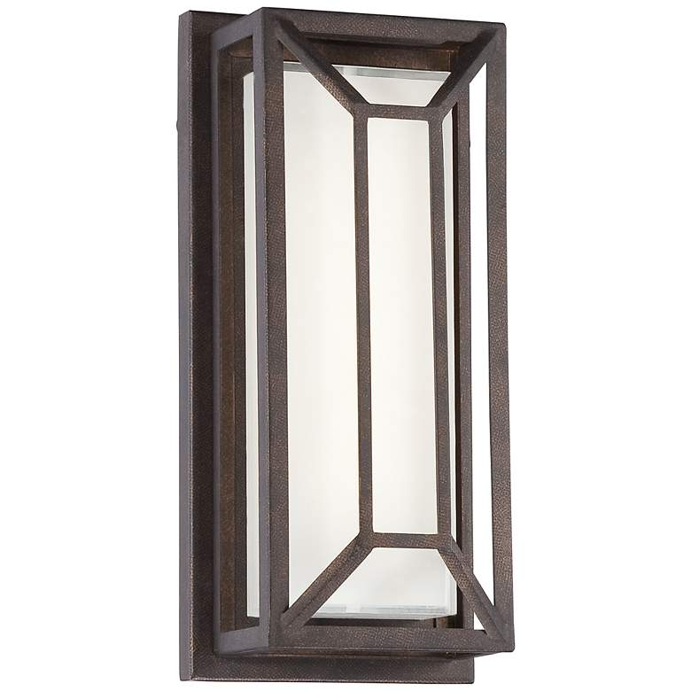 """Radcliffe 12"""" High Bronze Finish LED Outdoor Wall Light"""