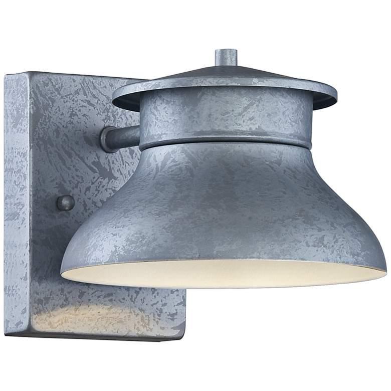 "Danbury 5"" High Galvanized Steel LED Outdoor Wall Light"