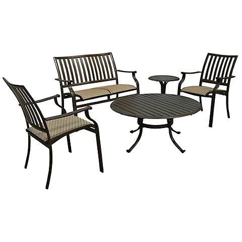 Panama Jack Island Breeze 5-Piece Patio Seating Set