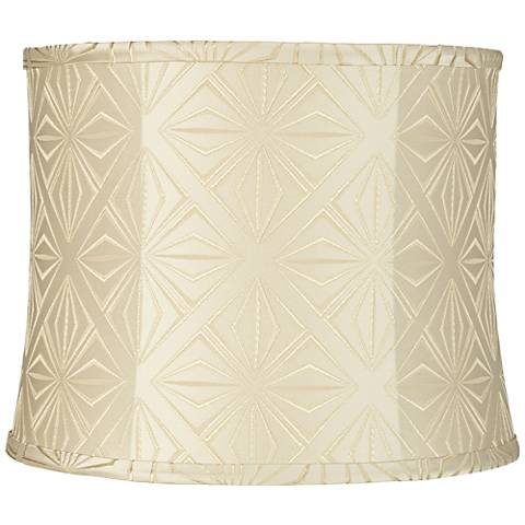 Diamond Star Cream Softback Drum Shade 13x14x11 (Spider)